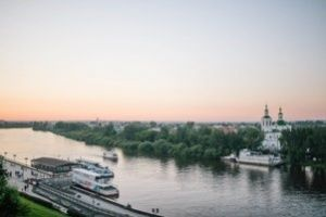 Tyumen is Gate to Siberia The sightseeing tour on a motor ship